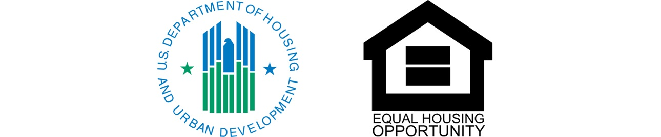 HUD and EOH logos