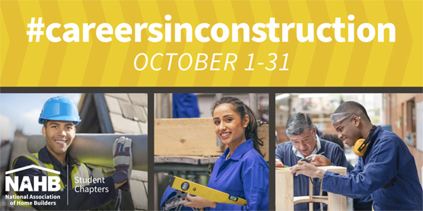 Careers in Construction month banner