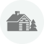 Log Homes Icon