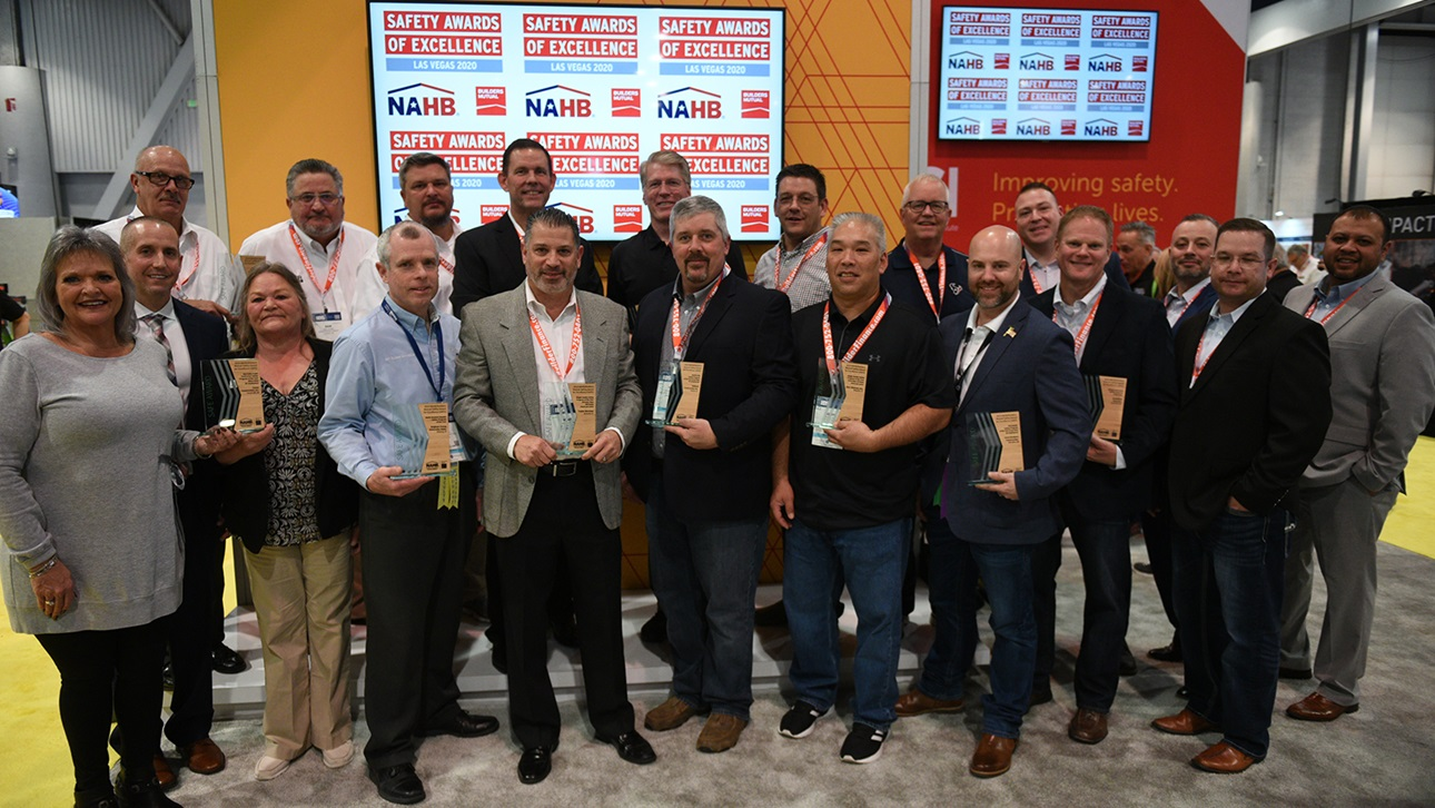 The winners of the 2019 SAFE Awards at IBS 2020