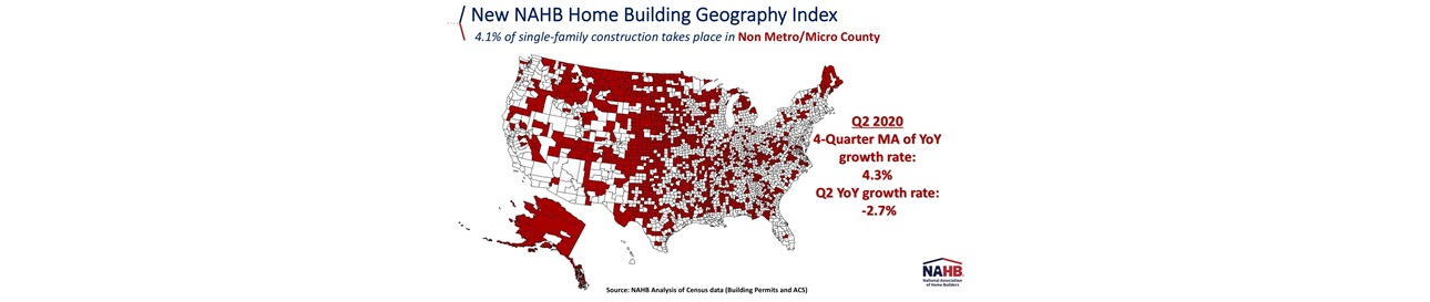 Home Building Geography Index (HBGI)