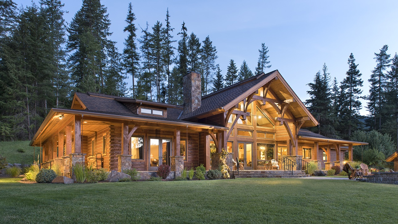 PrecisionCraft Log & Timber Homes