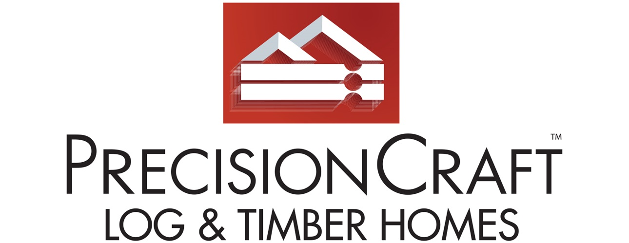 PrecisionCraft Log & Timber Homes Logo